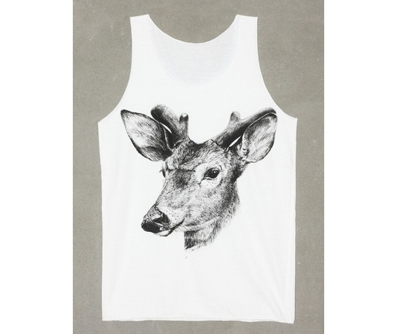 fawn_baby_deer_animal_tank_top_white_t_shirt_size_m_fashion_tops_3.jpg