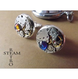 Steampunk Cufflinks Cuff Links Steampunk Jewelry