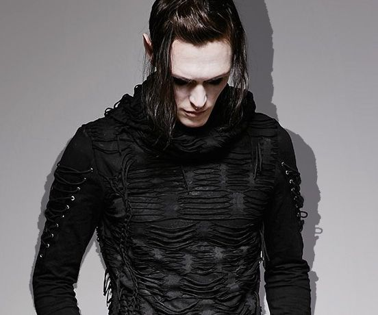 Top 40 Goth Style for Him