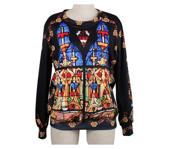 retro_castle_print_fashion_round_collar_sweater_cardigans_and_sweaters_4.jpg