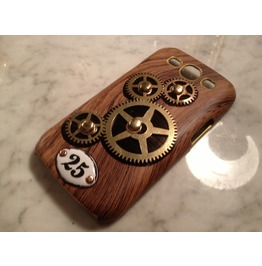 Igearz Samsung Galaxy S3 Steampunk Phone Case Gear Spin