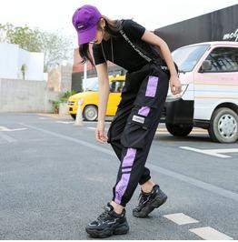 Cargo Pants Women's Summer Thin 2021 High Waist Loose Casual Sports Pants