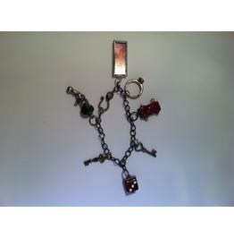 Found Objects Charm Bracelet