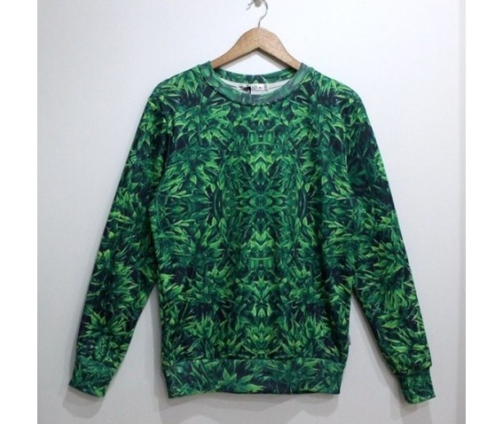 green_leaf_print_fashion_round_collar_sweater_cardigans_and_sweaters_5.jpg