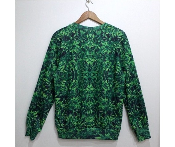 green_leaf_print_fashion_round_collar_sweater_cardigans_and_sweaters_4.jpg