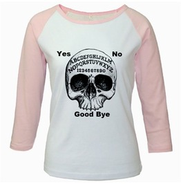 Ouija Board Raglan Shirt