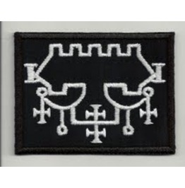 Sigil Belial Embroidered Patch, 3,2 X 4 Inch