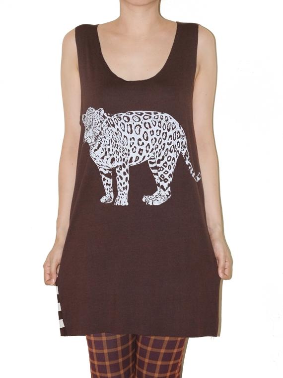 jaguar_wild_animal_brown_stripe_tunic_tank_top_size_m_fashion_tops_4.jpg