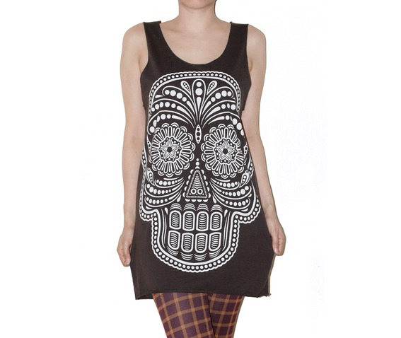 mexican_skull_shirt_charcoal_black_tank_top_tee_size_s_fashion_tops_4.jpg