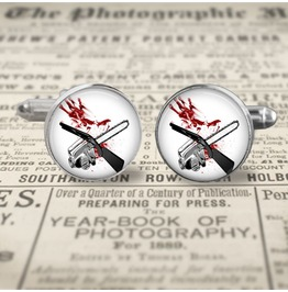 Army Darkness Movie Cuff Links Men,Weddings
