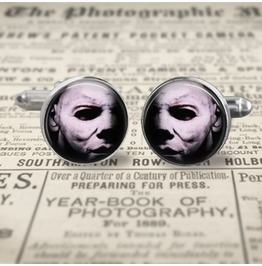 Halloween Movie Michael Myers Cuff Links