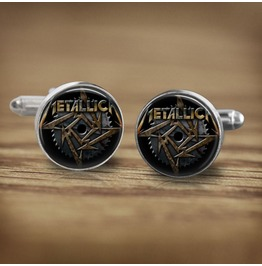 Metallica Star Logo Cuff Links Men, Weddings