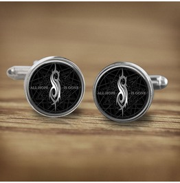Slipknot Hope Gone Logo Cuff Links Men, Weddings