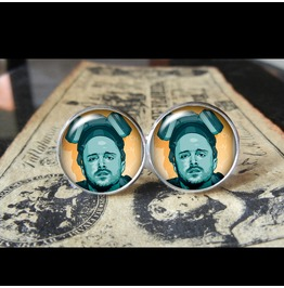 Jesse Pinkman Breaking Bad Cuff Links Men, Wedding