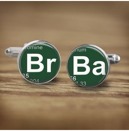 B Romine B Arium Breaking Bad Cuff Links Men, Wedding
