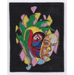 Marillion Embroidered Patch, 4 X 2,8 Inch