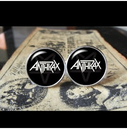 Anthrax Band Logo Cuff Links Men, Weddings,Groomsmen