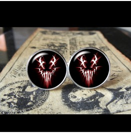 Mushroomhead Logo #2 Cuff Links Men, Weddings