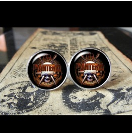 Pantera Logo #1 Cuff Links Men, Weddings