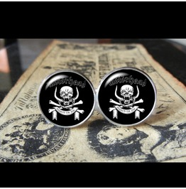 Motorhead Band Logo Cuff Links Men, Weddings,Groomsmen