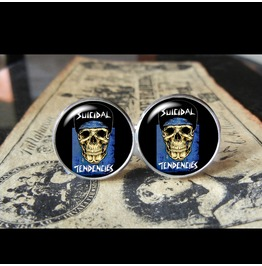 Suicidal Tendencies Band Logo#2 Cuff Links Men, Wedding