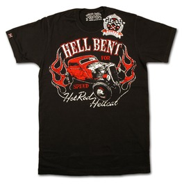 Liquor Brand Hellbent Speed Old School T Shirt