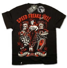 Liquor Brand Speed Freaks Hell Sexy Pin Men Tee