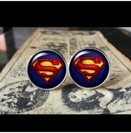 Alternate Superman #2 Style Cuff Links Men, Weddings