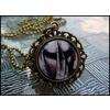 An193 mechanical hand evil necklace necklaces 2
