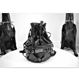 Bags & Purses Backpacks Black Skull Back