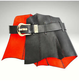 Vampire Haute Couture Harness Wide Belt,Designer Limited Edition