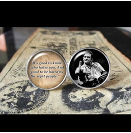 Johnny Cash Quote Cuff Links Men, Weddings,Groomsmen