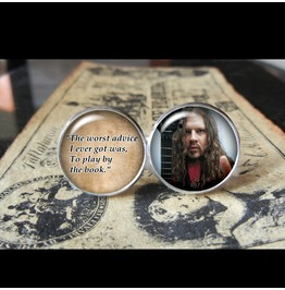 Dimebag Darrell Quote Cuff Links Men, Weddings,Groom