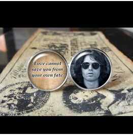 Jim Morrison Quote Cuff Links Men, Weddings,Groomsmen