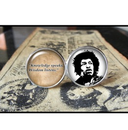 Jimi Hendrix Quote Cuff Links Men, Weddings,Groomsmen