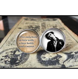 Sid Vicious Quote Cuff Links Men, Weddings,Groomsmen