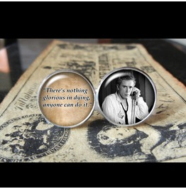 Johhny Rotten Quote Cuff Links Men, Weddings,Groomsmen