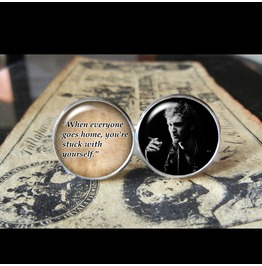 Layne Staley Quote Cuff Links Men, Weddings,Groomsmen