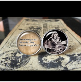 John Bonham Quote Cuff Links Men, Wedding,Groom,Gifts