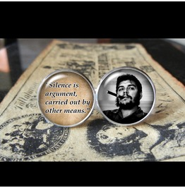 Che Guevara Quote Cuff Links Men, Wedding,Groom,Gift