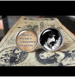 Frank Zappa Quote Cuff Links Men, Wedding,Groom,Gift