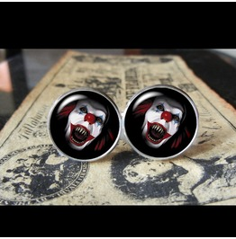 Pennywise 2 Cuff Links Men,Wedding,Groomsmen,Groom
