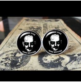 Heisenberg Quote Cuff Links Men,Wedding,Groomsmen,Groom