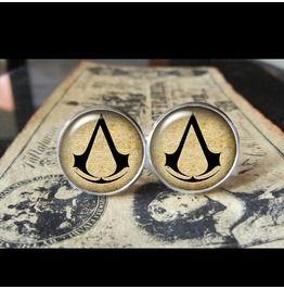 Assassin's Creed Cuff Links Men,Wedding,Groomsmen,Gift
