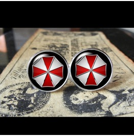 Resident Evil Cuff Links Men,Wedding,Groomsmen,Gift
