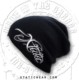 Xtatic Wear Beanie Chicano Lettering