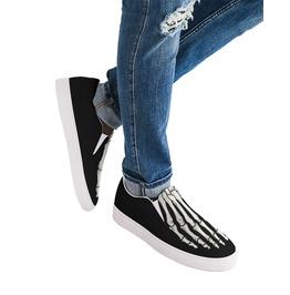Elliz Next-Gen Skeleton Foot Slip-on Skater Sneakers - Skateboarding Shoes