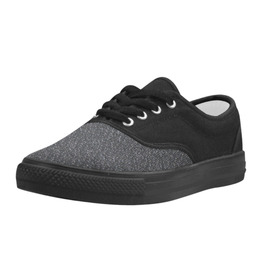 Elliz Unisex Aries Casual Canvas Shoes - Skateboarding Sneakers (Grey)