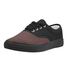 Elliz Unisex Aries Casual Canvas Shoes - Skateboarding Sneakers (Burgundy)