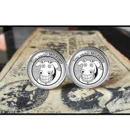 Dead Milkmen Cuff Links Men,Wedding,Groomsmen,Gift